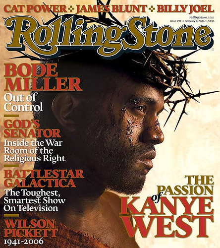 Kanye West Jesus Christ Rolling Stone Cover