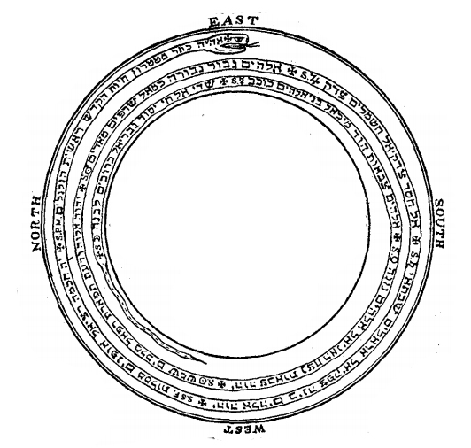 The Lesser Key of Solomon Ouroboros