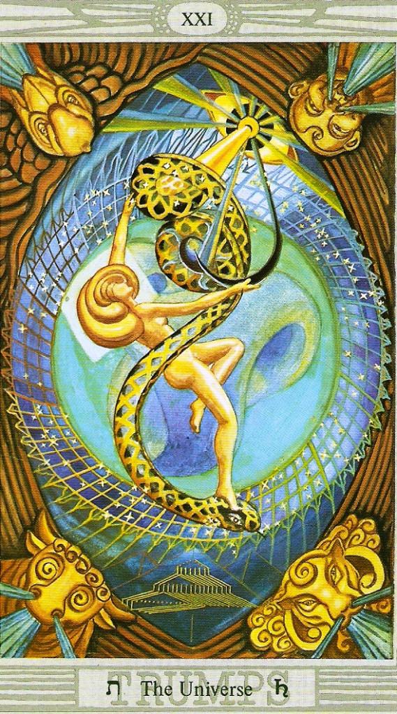 The Universe Thoth Tarot Card