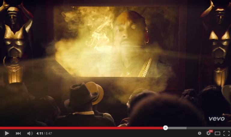 Snoop Dogg Sharing Canubis Spirit