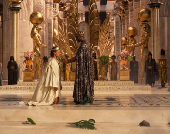 Crowning of Horus