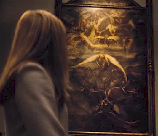 Lex Luthor Painting - Angels Demons