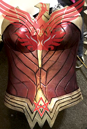 Phoenix Breastplate
