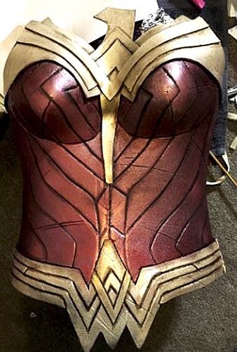 Wonder Woman Breastplate