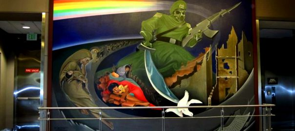Denver Airport Soldier Painting