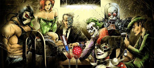 Batman Villians Covid
